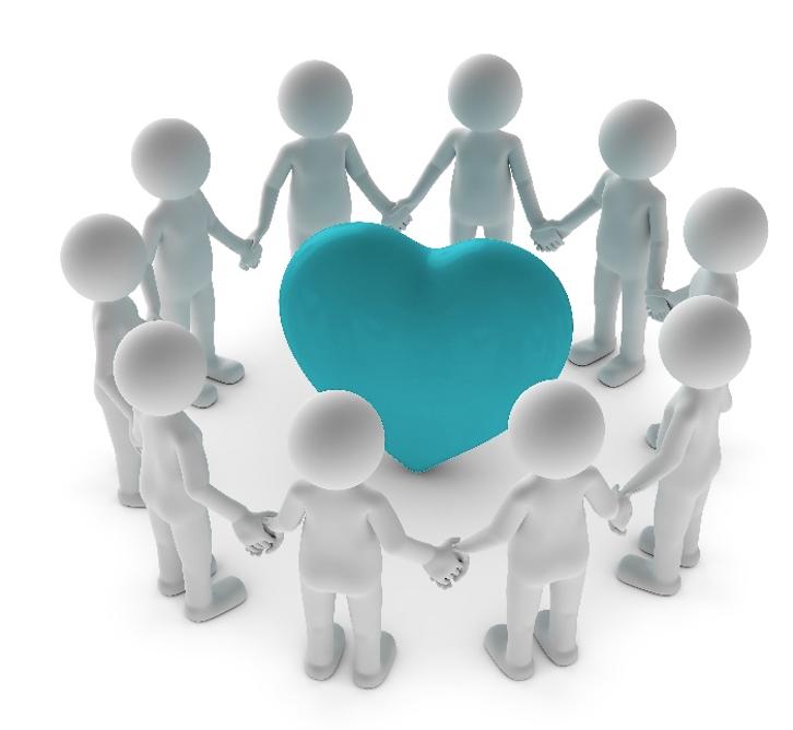 Teamwork mit Herz